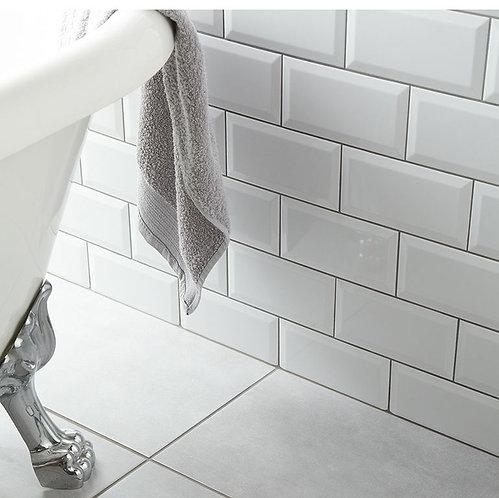 Metro White Ceramic Wall 100x200mm