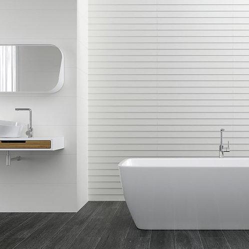 Ertan White Decor Ceramic Wall 300x900mm