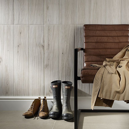 Galloway Cream Glazed Porcelain Wall & Floor 150x900mm