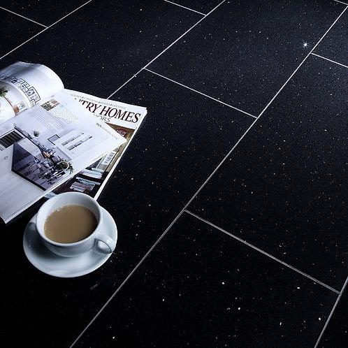 Starlight Black Polished Quartz W&F 600x300mm