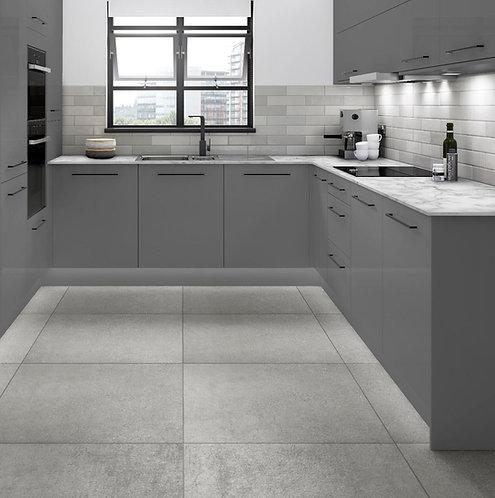 Acapulco Grey (Rect) Glazed Porcelain W&F 790x790mm