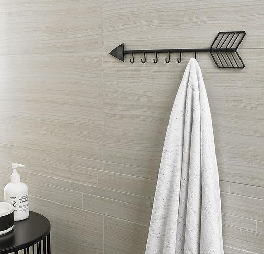 Rockwood Weathered Grey Interlocking Porcelain Mosaic