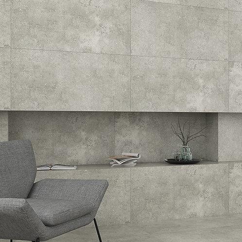 Portland White Porcelain Semi Lappato (Beton) 600x1200mm