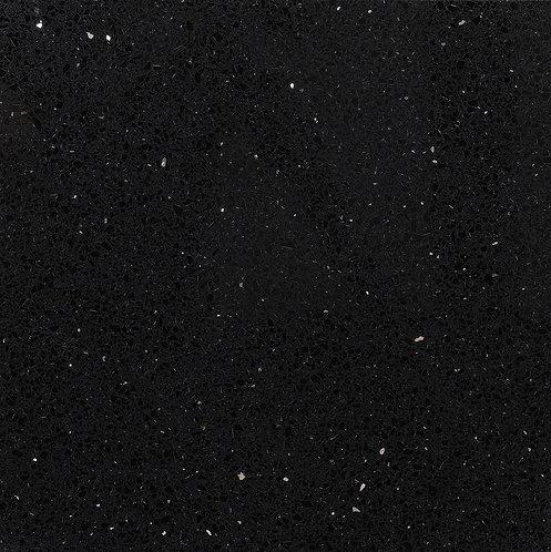 Starlight Black Polished Quartz Wall & Floor 300x300mm
