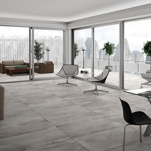 Manhattan Grey Glazed Porcelain 600x1200mm