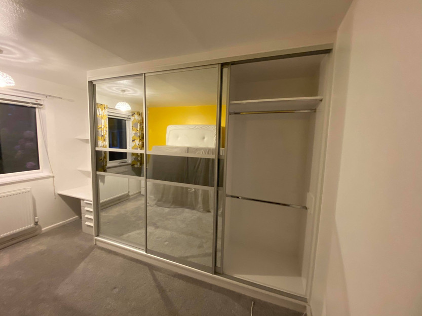 Fitted Sliding wardrobes in stoke on trent