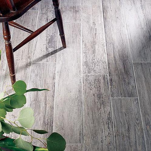 Kielder Dark Grey Glazed Porcelain Wall & Floor 150x900mm