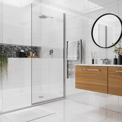 Space White Glazed Porcelain Wall & Floor 300x600mm