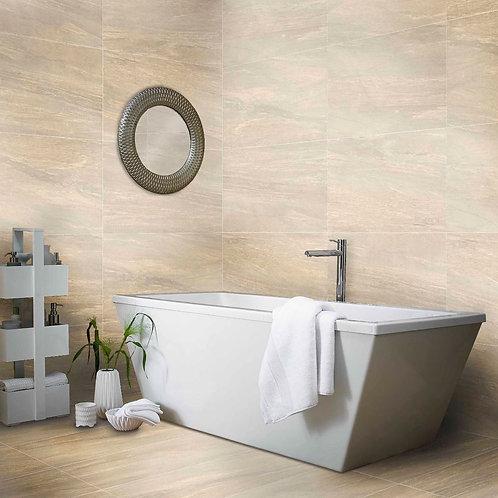 Valmalenco Beige Glazed Matt Porcelain Wall & Floor 450X900mm