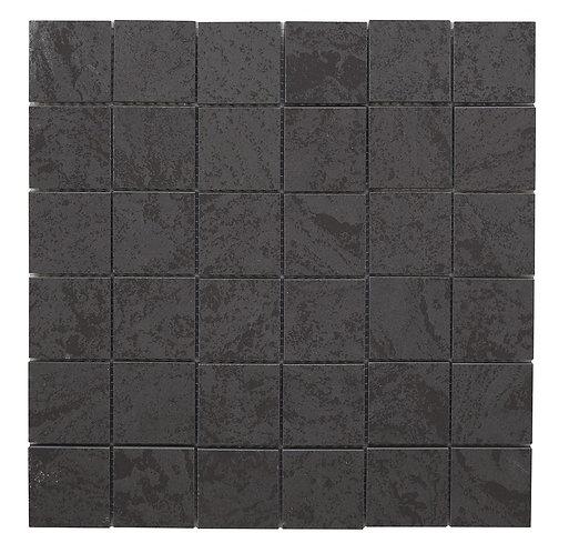 Izen Black Porcelain Mosaic 47x47mm