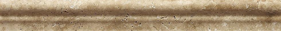 Noce Tumbled Travertine Moldura 305x38mm