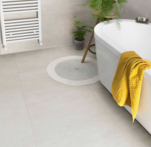 Rainstone Bone Glazed Porcelain Wall & Floor 300x600mm