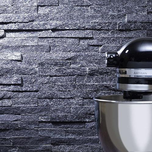 Black Sparkle Slate Cladding 100x360mm