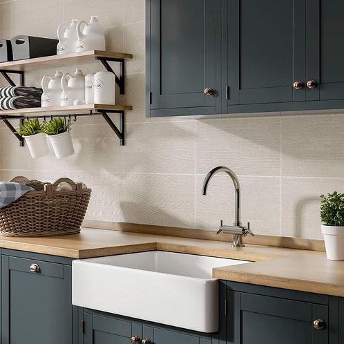 Brecon Cream Matt 250x500mm Ceramic Wall Tile