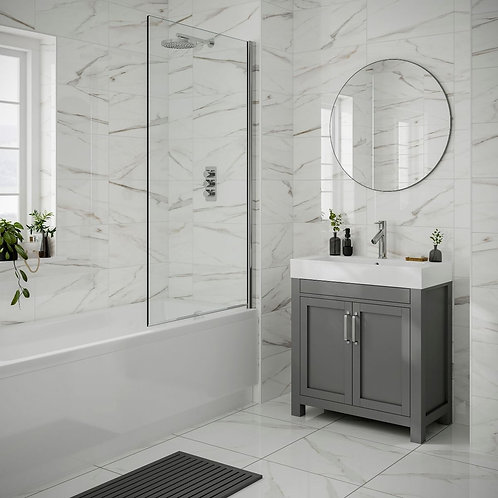 Lulworth White Gloss 250x500mm Ceramic Wall Tile