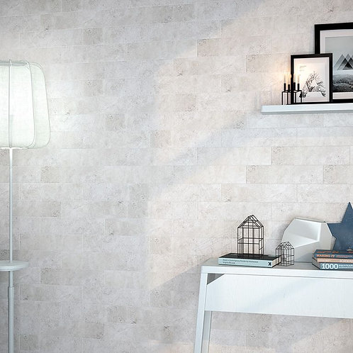 Organic Hudson Blanco Ceramic Wall 100x400mm