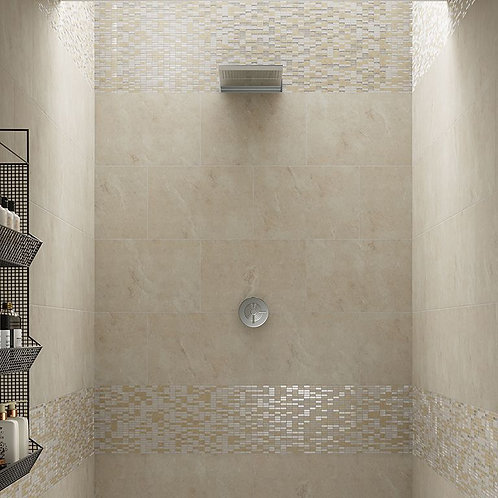 Aspect Ivory Glazed Porcelain Wall & Floor 580x400mm