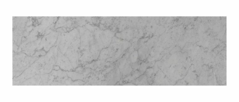 Carrara Polished Marble Wall & Floor  305x923mm