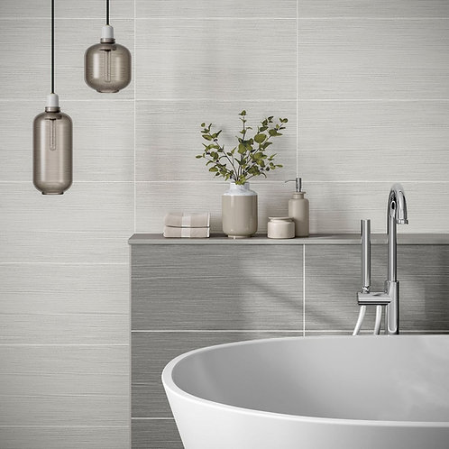 Matlock Grey Matt 250x500mm Ceramic Wall Tile