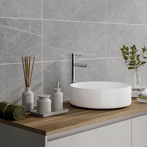 Penshaw Grey Matt 250x500mm Ceramic Wall Tile