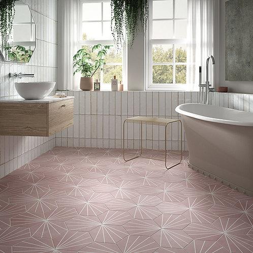 Hope White Gloss Ceramic Wall 75x300mm