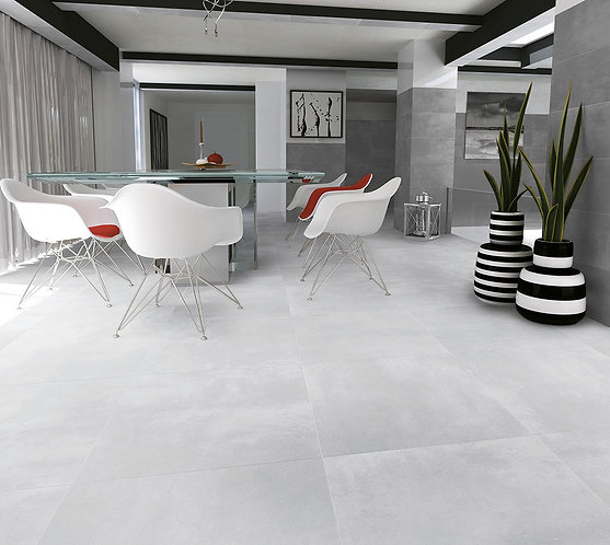 Loft White Glazed Porcelain Wall & Floor 900x900mm