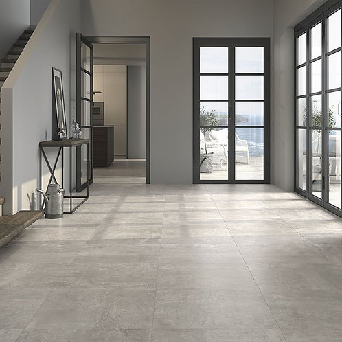 Mica Grey Glazed Porcelain Floor 600x600mm