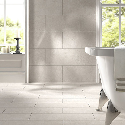 Evol Grigio Grip Rectified Glazed Porcelain Wall & Floor 600x300mm