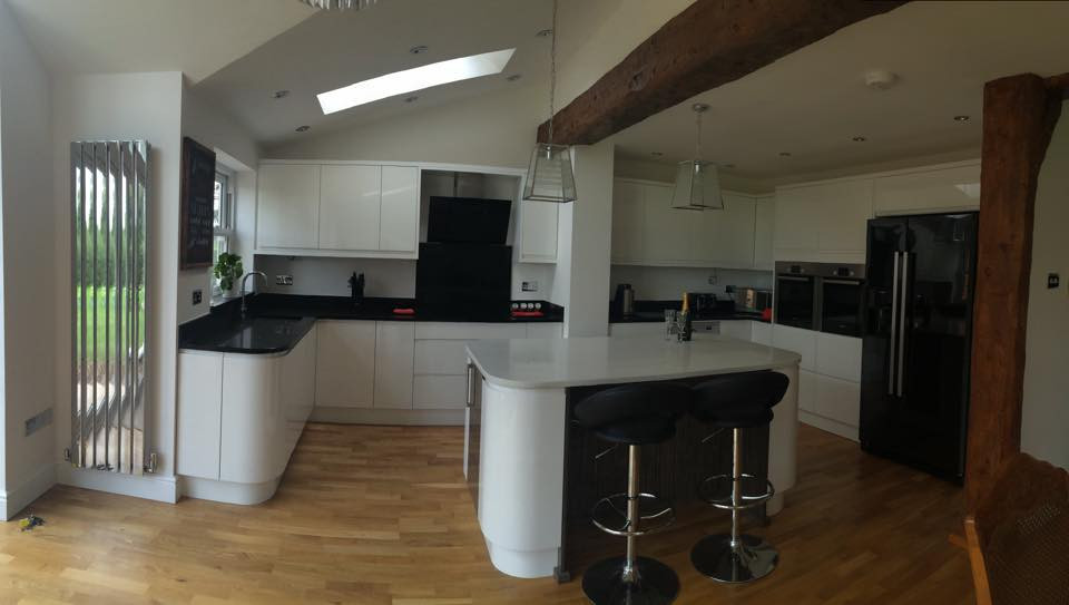 Fully Fitted Kitchen Staffordshire