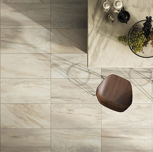 Tech Marble Beige Glazed Porcelain Wall & Floor 615x308mm