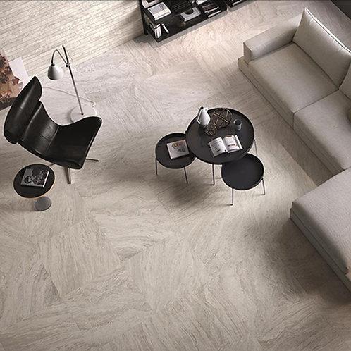 Valstein Light Grey (Weiss) Grip Porcelain Wall & Floor 598x598mm