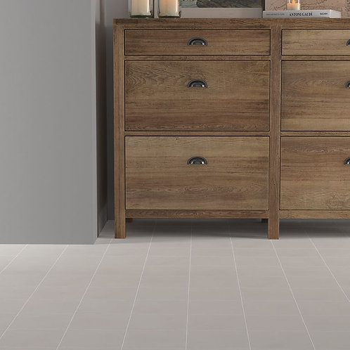Crafted Cement Plain Warm Grey Porcelain Wall & Floor 185x185mm