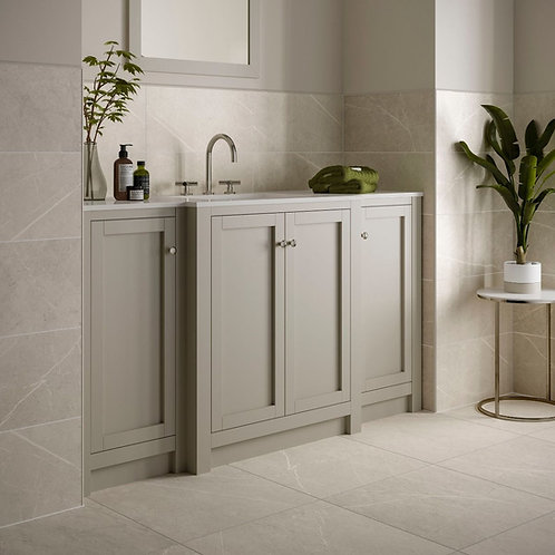 Penshaw Cream Matt 500x500mm Porcelain Wall & Floor Tile