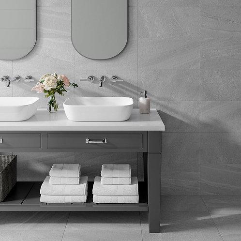 Kynance Grey Matt 500x500mm Porcelain Wall & Floor Tile