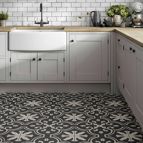 Picasso Patterned Glazed Ceramic Wall & Floor Tile 250x250mm