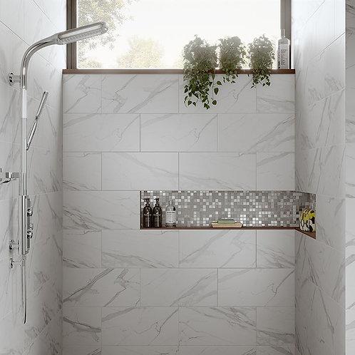 Kendal Bianco Glazed Porcelain Wall & Floor 600x300mm