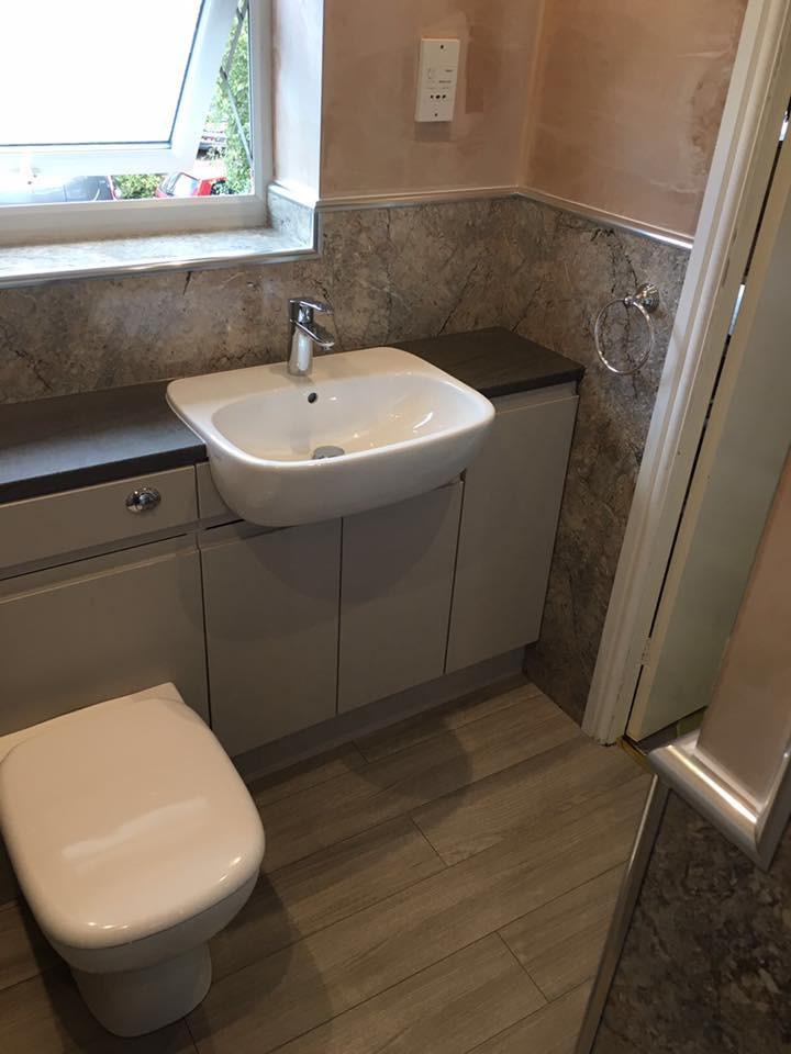 Complete Bathroom From Start to Finish
