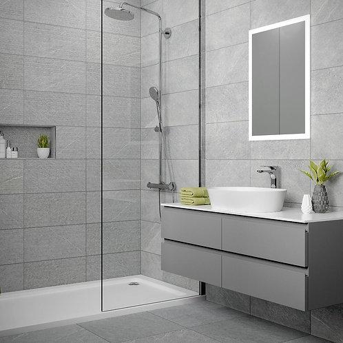 Ingleton Grey Matt 500x500mm Porcelain Wall & Floor Tile