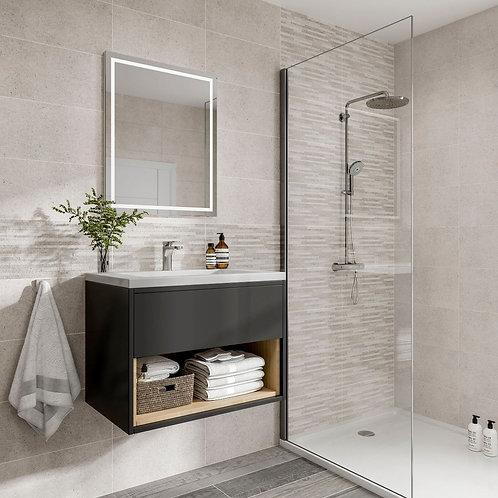 Snowdon Silver Matt 250x500mm Ceramic Wall Tile