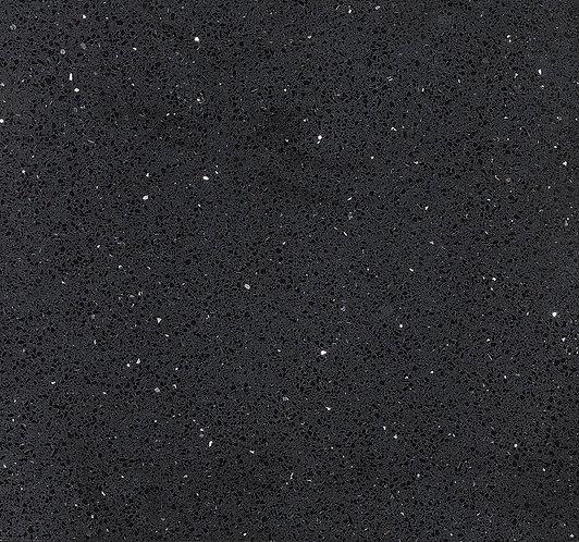 Starlight Black Polished Quartz Wall & Floor 600x600mm
