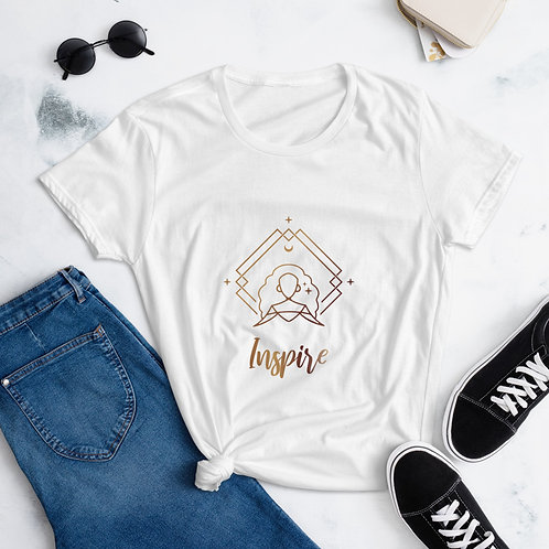 """""""Inspire"""" Women's short sleeve t-shirt"""