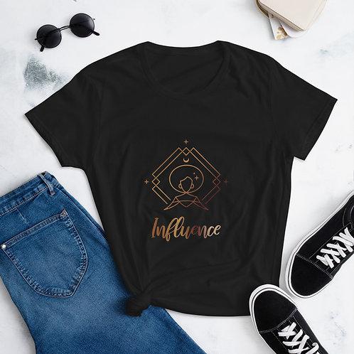 """""""Influence"""" Women's short sleeve t-shirt"""