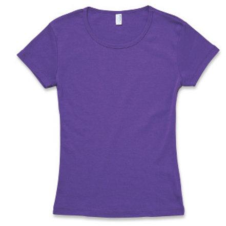 女裝修身T恤