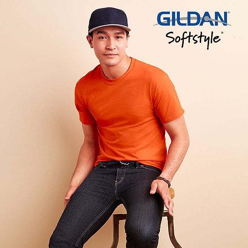 GILDAN 63000 SOFTSTYLE 成人  T 恤