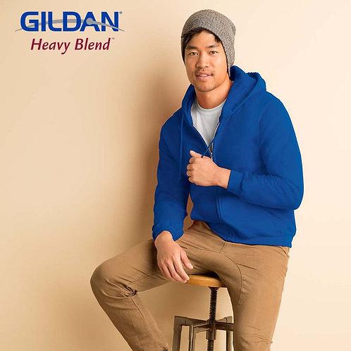 GILDAN 88600 HEAVY BLEND 成人連帽拉鏈衛衣 (新版)