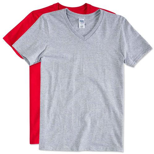 YMT 常用成人V領T恤