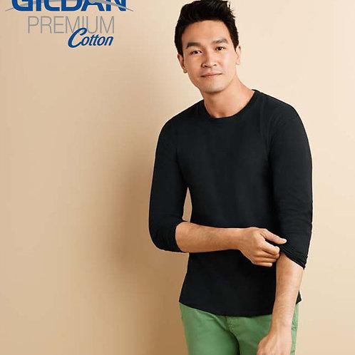 GILDAN 76400 全棉長袖 T 恤 (新版)