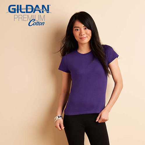 GILDAN 76000L 女裝修身 T 恤