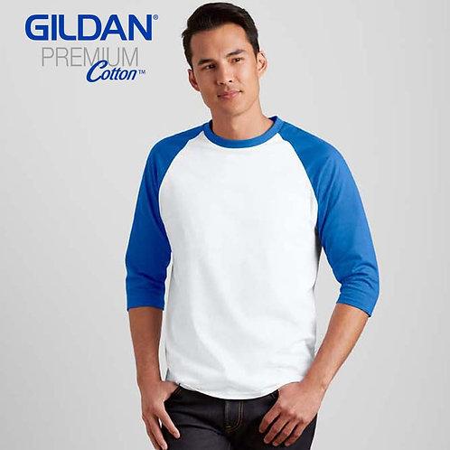 GILDAN 76700 成人七分袖牛角袖 T 恤