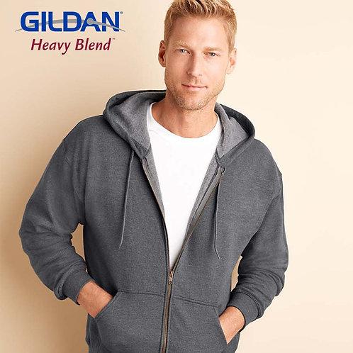 GILDAN 18700 HEAVY BLEND 成人連帽拉鏈衛衣